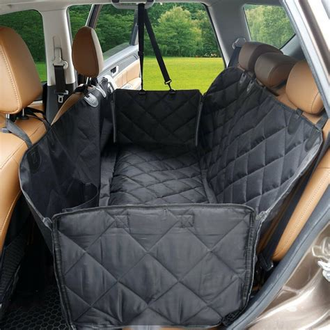 Pet Hammock Car by Uk Pet Car Seat Cover Safety Mat Cushion Rear Back