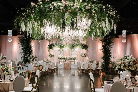 enchanted indoor garden wedding rebecca chan weddings