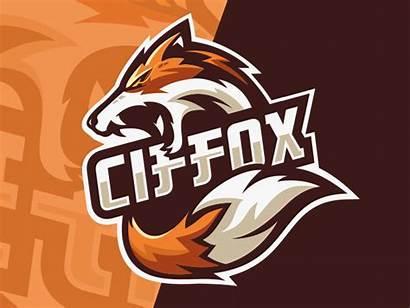 Fox Gaming Esports Team Dribbble Animal Logos