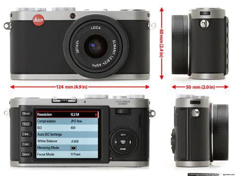 Kamera Leica X1 leica x1 review digital photography review