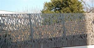 Panneau Métallique Décoratif : 1000 id es propos de cloture metallique sur pinterest portail metal portail et portillon ~ Teatrodelosmanantiales.com Idées de Décoration