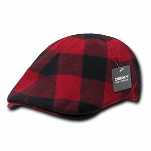 DECKY Plaid Ivy Drivers Newsboy Gatsby Golf Hats Hat Cap ...