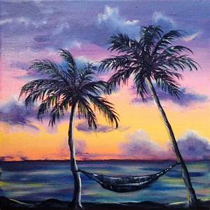 REDUCED PRICE Beach ocean original oil painting caribbean ...