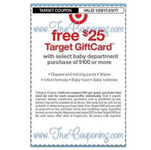 Target Baby Department Coupons 2017