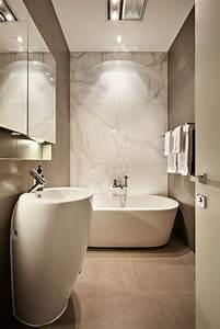 salle de bain taupe 35 idees d39amenagement avec un With salle de bain design avec revue décoration
