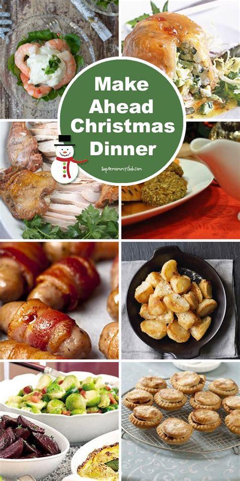 make dinner makeaheadchristmasdinnerrecipespinterest written reality