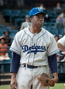 Chadwick Boseman As Jackie Robinson 42 NerdSpan