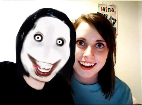overly attached girlfirend  jeff  killer overly