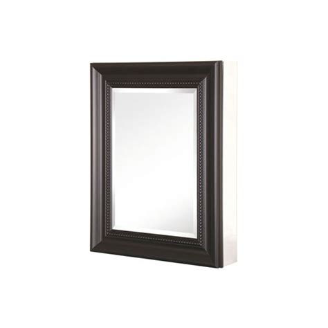 Pegasus Medicine Cabinet Manufacturer by Pegasus Sp4609 Deco Espresso 20 Inch Framed Mirrored