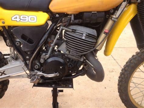 1982 Yamaha Yz 490 Dirtbike  Ahrma Style Dirt Bike