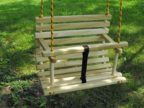 wooden baby swing seat plans woodworking projects plans