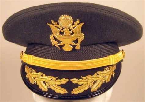 Us Army Field Grade Officer Service Dress Greens Hat Cap