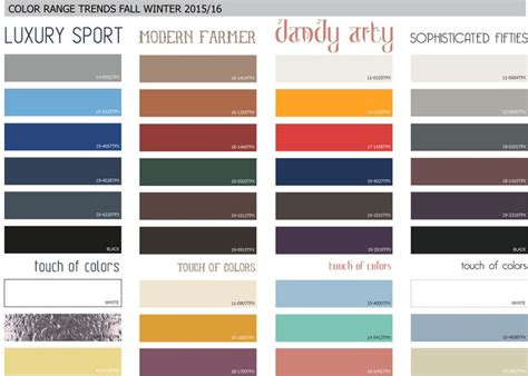sport colors 225 best fall winter 2015 2016 color trends images on