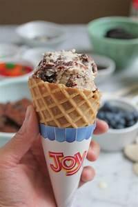 Vanilla Brownie Ice Cream for Ice Cream Social Week • Hip ...