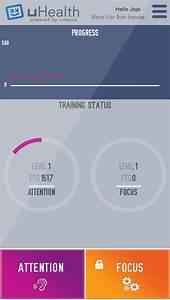 uHealth- Improve Your Focus! Eye Tracking Exercises (ios)