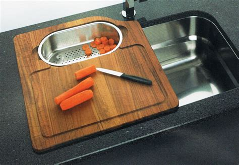 kitchen sink cutting board keeping your kitchen clean ideas and advice the kitchen 5692