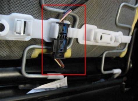 1 series e87 passenger airbag seat mat occupancy sensor