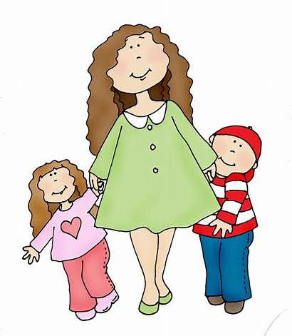 Mom Clipart Children Dearie Dolls Give Clipartion