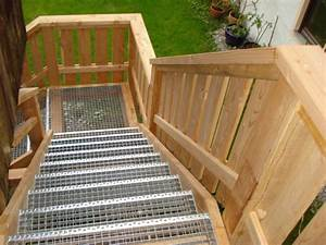 Außentreppe Holz Selber Bauen : au entreppe aus holz ts78 hitoiro ~ Lizthompson.info Haus und Dekorationen