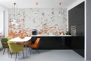 Abwaschbare Wandfarbe Küche : abwaschbare tapete kche kuchen tapeten modern fur for designs kueche fototapete tapete muster k ~ Markanthonyermac.com Haus und Dekorationen