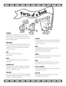 Examples of Parts of a Book