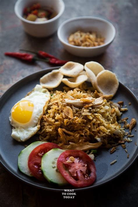good indonesian nasi goreng   cook today