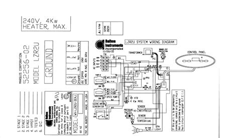 Spa Circuit Board Wiring Diagram by Balboa Circuit Board Marquis Rg Lezurr1a F 600 6273