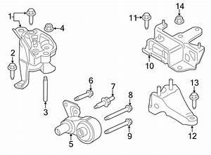 Ford Fiesta Engine Mount  Bearings