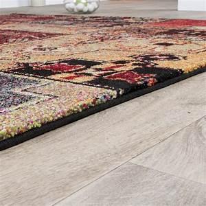 Moderne Teppiche Günstig : designer teppich bunt orient muster multicolour rot ~ Lateststills.com Haus und Dekorationen