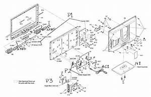 Sylvania Lcd Television Parts