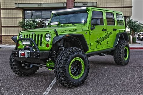 green jeep green jeep rubicon fab four wheelers pinterest in