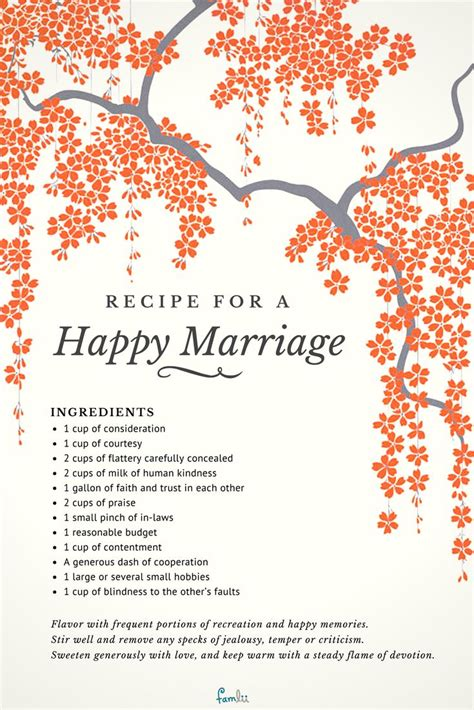 recipe   happy marriage poems  inspiration