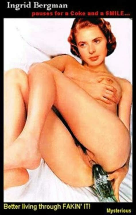 Ingrid Bergman Celebrity Porn Photo