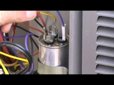 Central Air Conditioner Capacitor Wiring by Hvac Capacitor Wiring Wiring Diagram Secrets