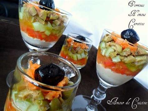 cuisine carotte les meilleures recettes de verrines et carottes 3