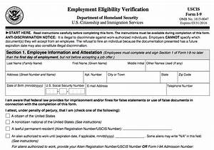 new employment eligibility verification form i 9 das hr With i 9 documents for employment