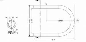 RDI180 Degree Return Loop For Vinyl Handrail DeckExpressions