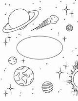 Binder Coloring Science Space Sheet Earth Sciences Subject sketch template