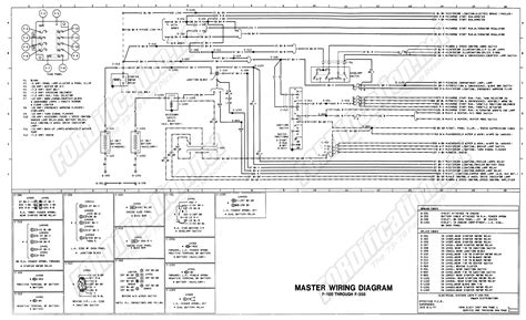 1979 Ford F 250 Light Wiring by 1973 1979 Ford Truck Wiring Diagrams Schematics