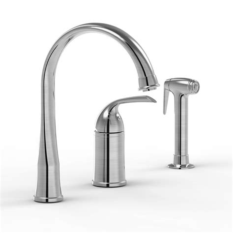 3 kitchen faucet with pull out sprayer