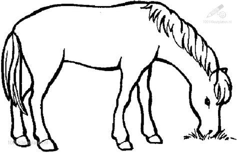 Kom zo nu en dan ook terug, want om de zoveel tijd kopen wij nieuwe paarden kleurplaten. Kleurplaat Paard