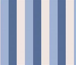 tienda online telas & papel papel pintado rayas Carnaby azul