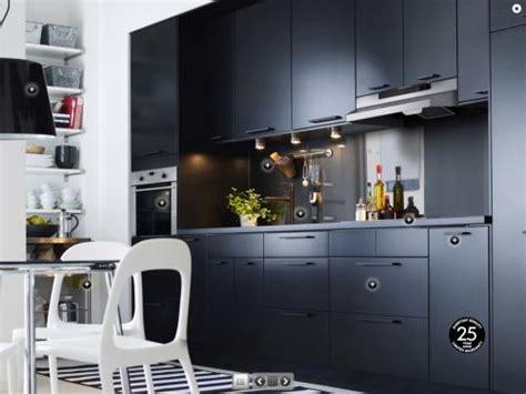 ikea cuisine noir cuisine ikea noir mat