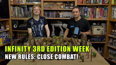 Infinity 3rd Edition Week  New Rules Close Combat! Youtube