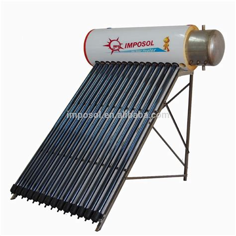 solar powered heat l no battery powered heat pipe portable solar water heater