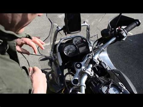 How Wire Tomtom Rider Bmw Gps Connector Youtube