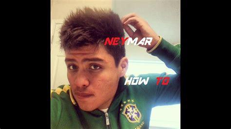 neymar hairstyle tutorial youtube