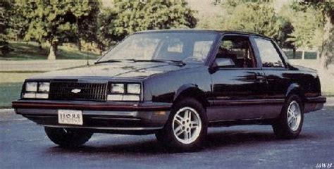 Chevrolet Celebrity Coupe 2 (1984) - Picture Gallery ...
