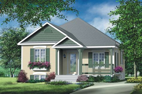 Simple Two Bedroom Cottage 80363PM Architectural