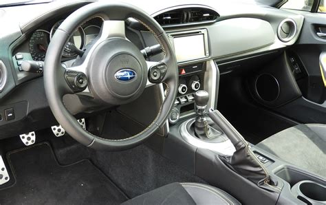 subaru brz interior subaru brz makes driving again wheels ca